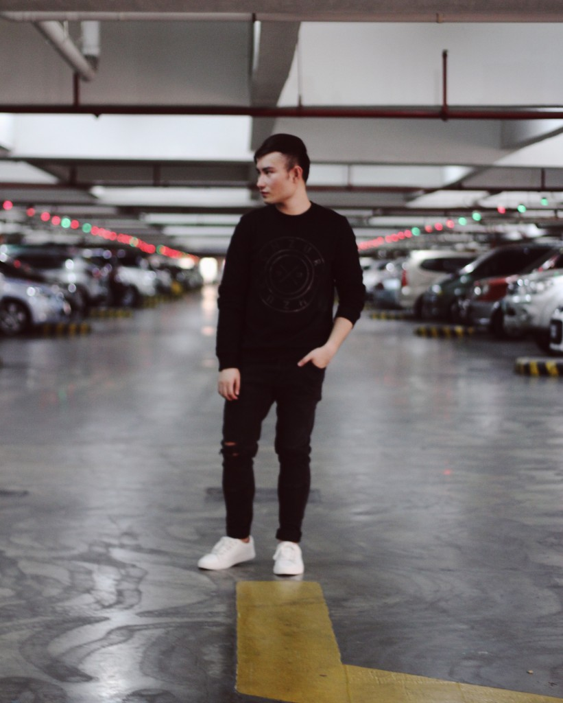 style fashion blogger cebu black