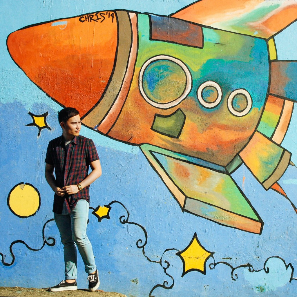 instagram rocket mural graffiti cebu colorful