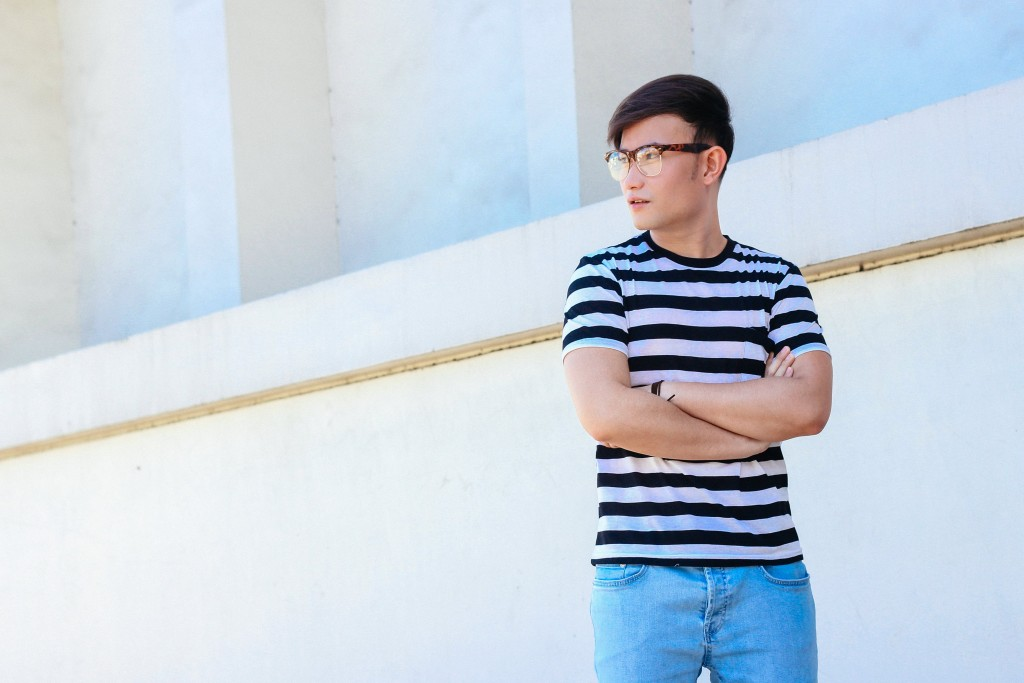 cebu lloyd chua style blogger stripes fashion