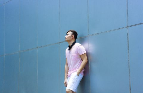 pink men style fashion