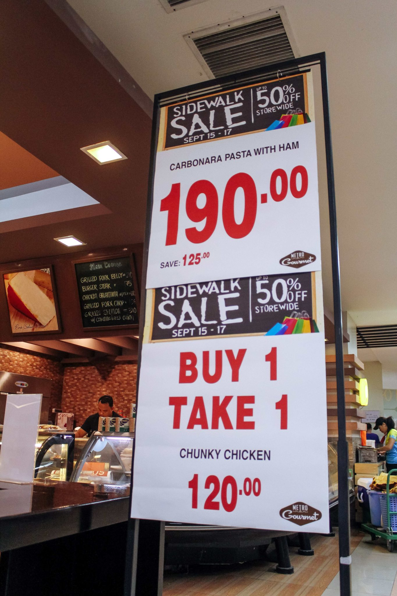 metro sale store cebu shopping
