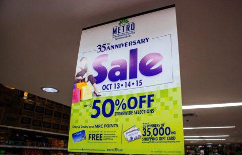 metro 35 anniversary sale cebu
