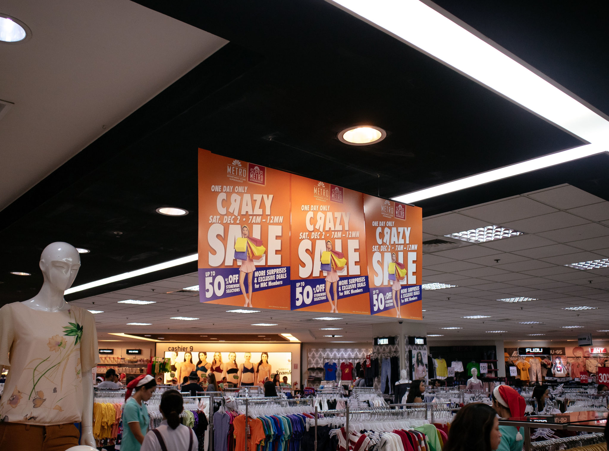 cebu metro store ayala shopping