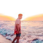 lloyd chua san juan la union beach sunset blogger summer